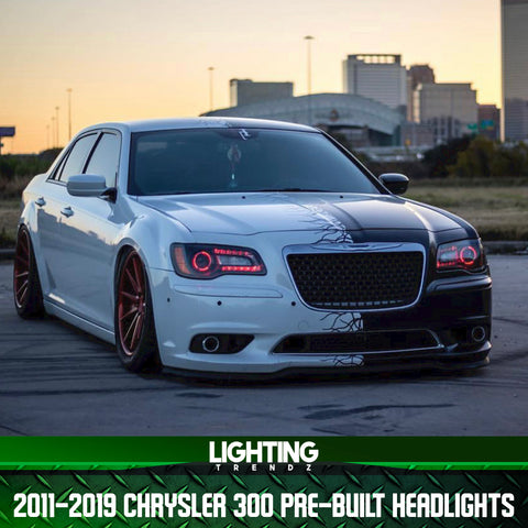 2011-2019 Chrysler 300 Pre-Built Headlights
