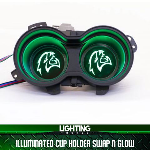 Illuminated Cup Holder Swap n Glow