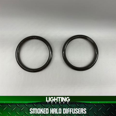 70mm - 90mm  Smoked Halo Diffusers