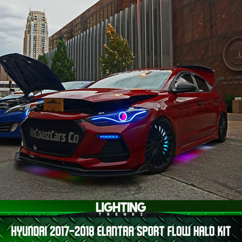 Hyundai 2017-2018 Elantra Sport Flow Halo Kit