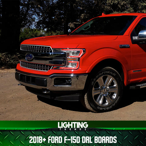 2018+ Ford F150 DRL Boards