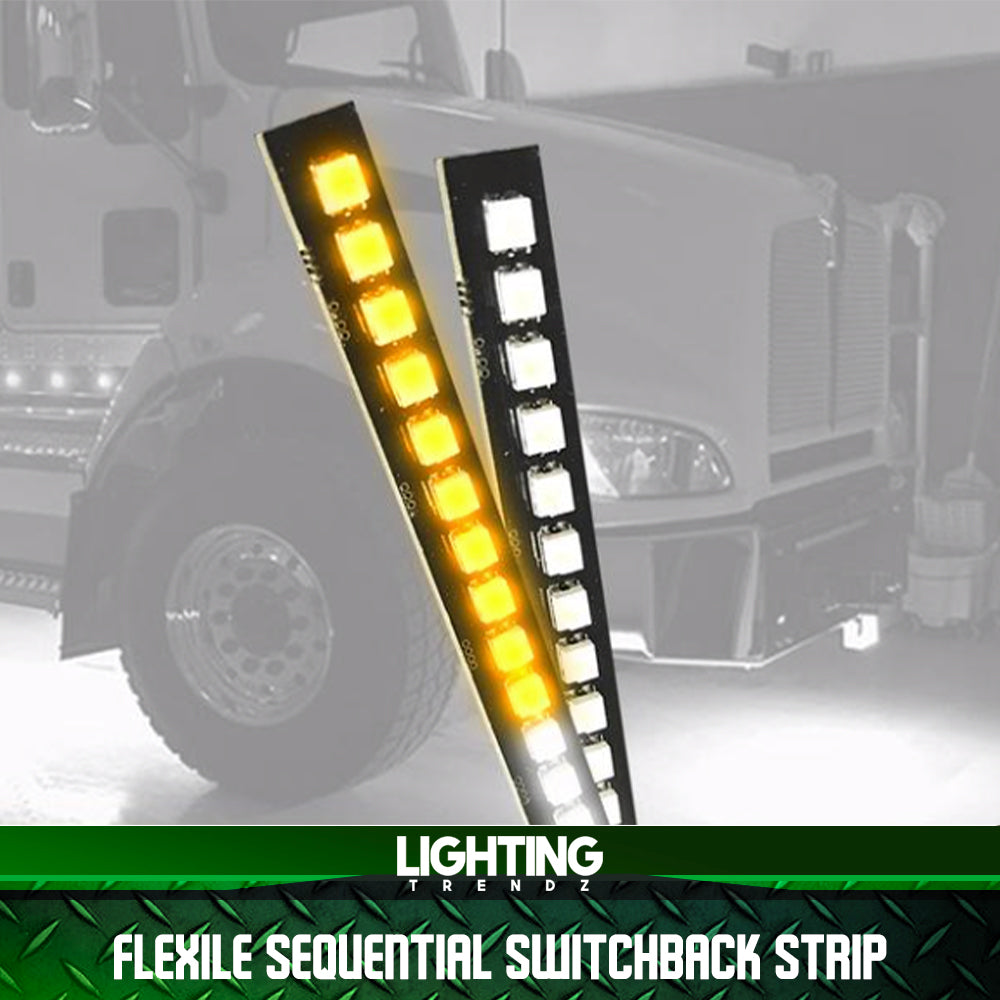 Flexile Sequential Switchback Strips