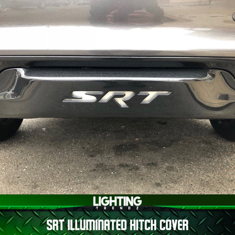 Pre-Built SRT Illuminated Hitch Cover
