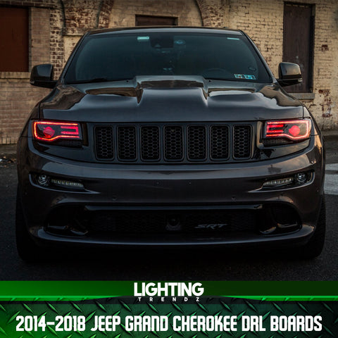 2014-2019 Jeep Grand Cherokee DRL Boards