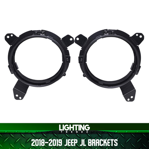 Pre-Built 1997-2020 Jeep Wrangler/Gladiator Truck Flow Series Headlights