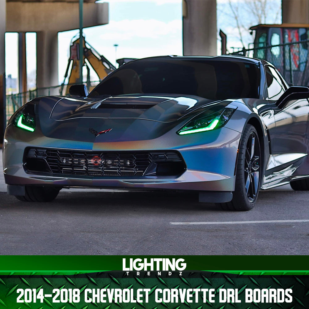 2014-2018 Chevrolet Corvette DRL Boards