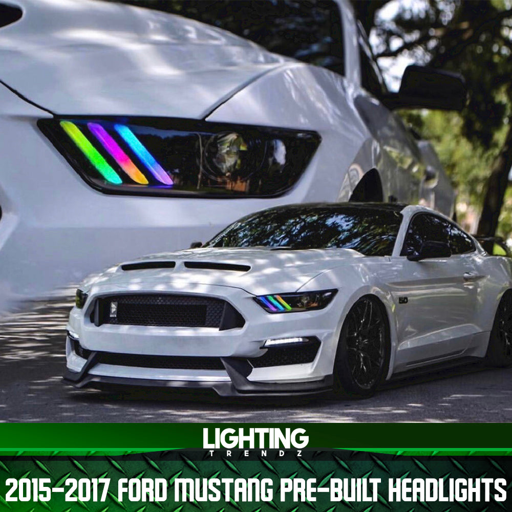 2015-2017 Ford Mustang Pre-Built Headlights