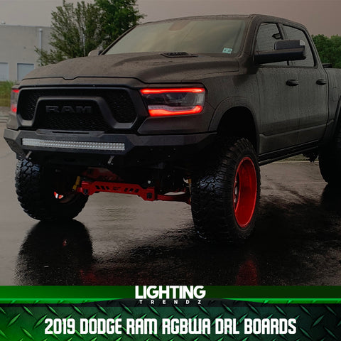 2019 Dodge Ram DRL Boards