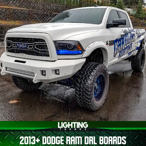 2013-2018 Dodge Ram DRL Boards
