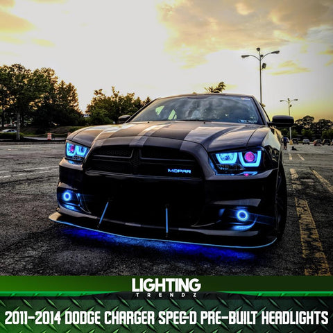 2011-2014 Dodge Charger Spec-D Pre-Built Headlights