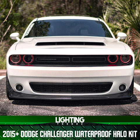 2015-2020 Dodge Challenger Waterproof Halo Kit