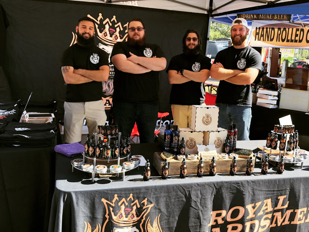 Royal Beardsmen Event Beard Booth