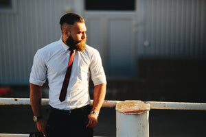 Bearded Professional Beard Care Beard Grooming Model