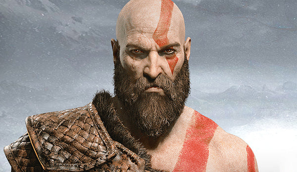Kratos from God of War IV