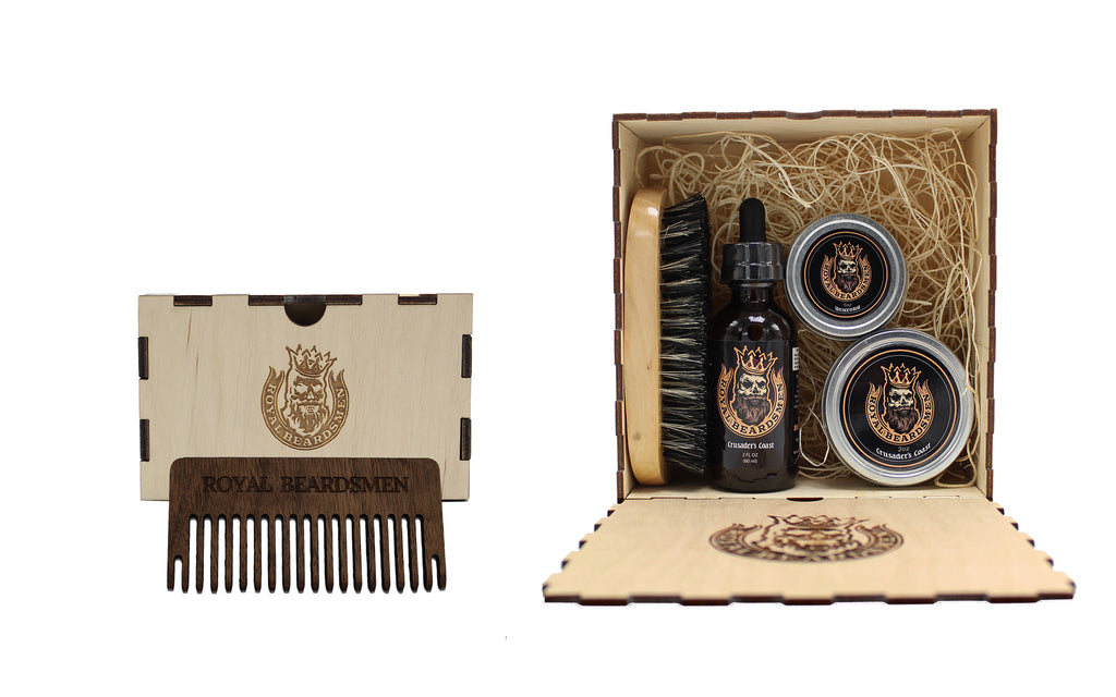 Royal Beardsmen Beard Kit Starter Beard Oil