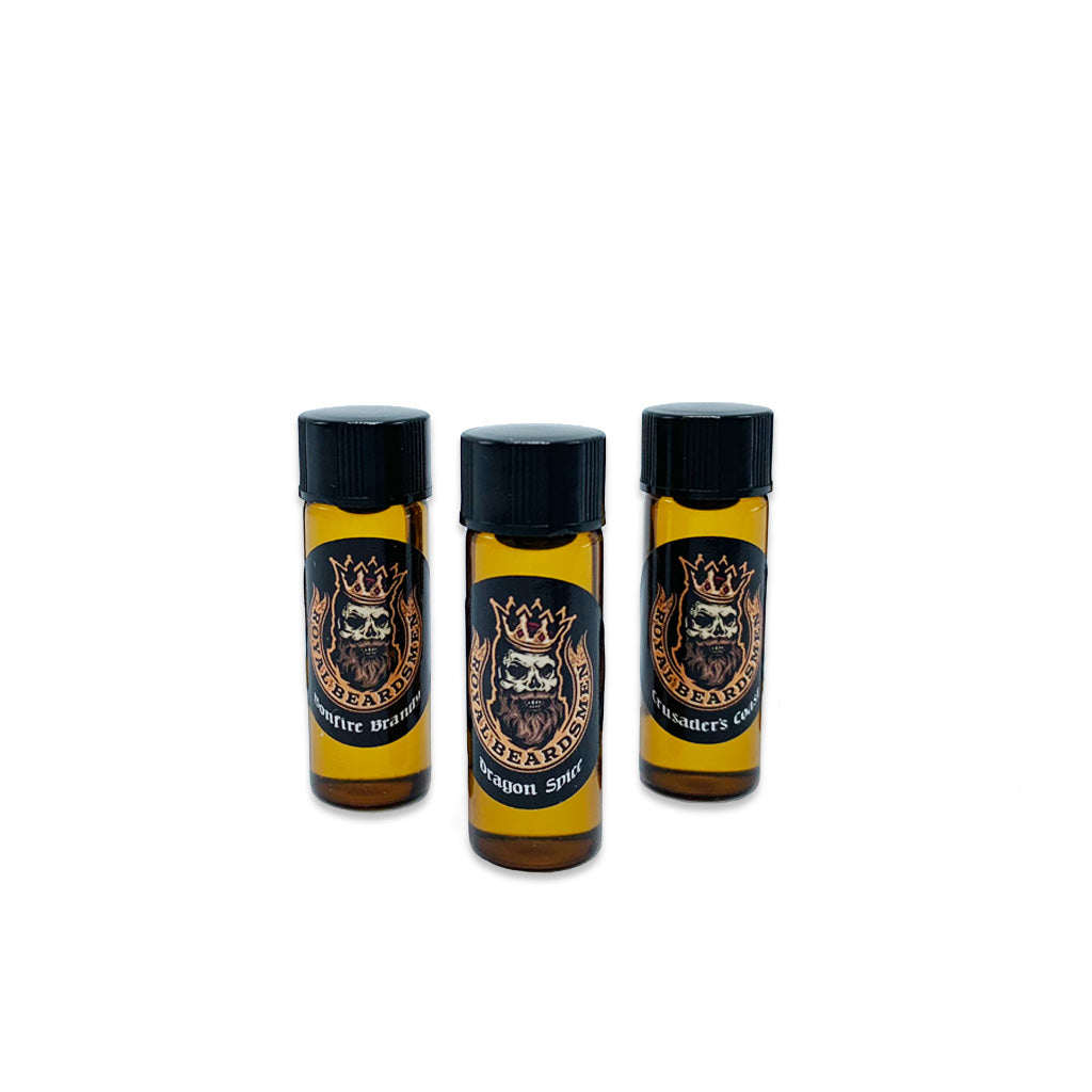 Beard Oil Samples 3 Pack