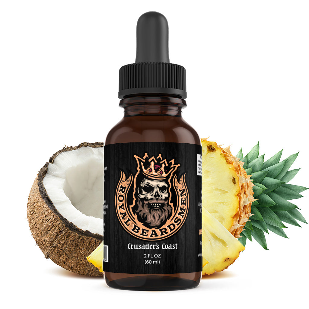 Crusaders Coast Premium Beard Oil
