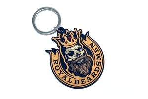 Custom Beard PVC Keychain