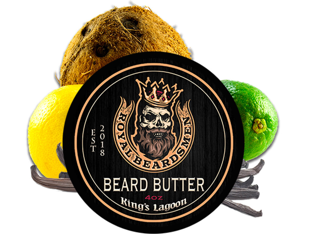 King's Lagoon Coconut Vanilla Beach Beard Butter