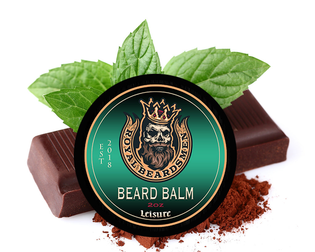 Leisure peppermint chocolate Premium Beard Balm