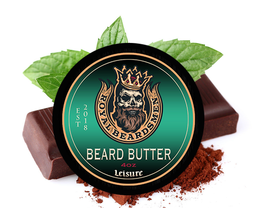Leisure Chocolate Peppermint Beard Butter
