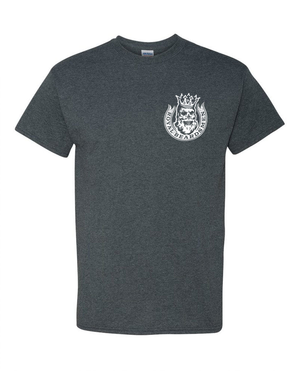 Royal Beardsmen Gray Shirt White Logo