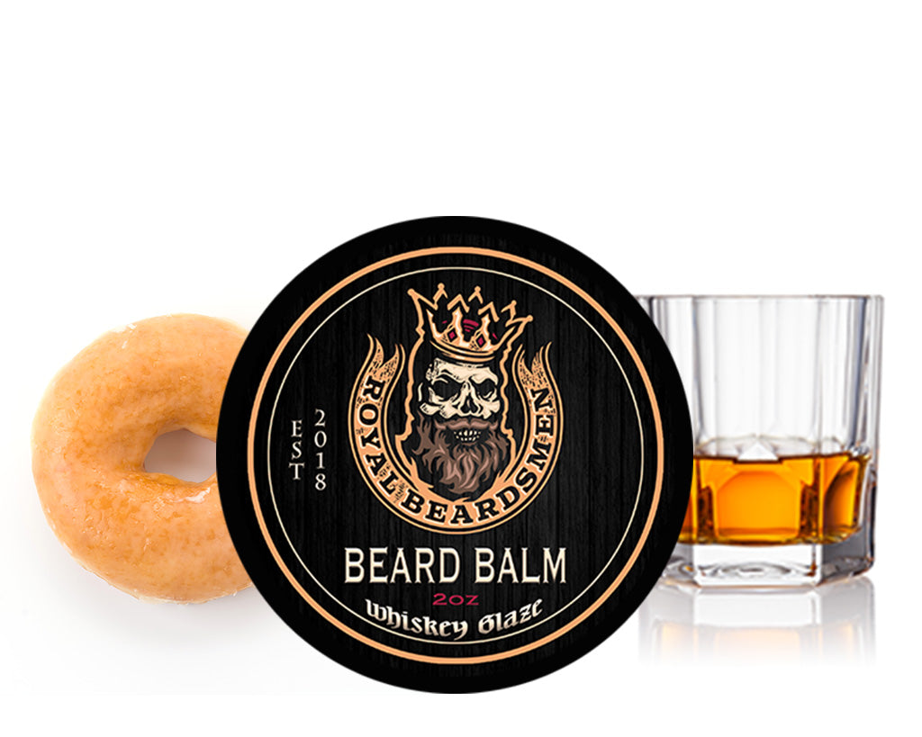 Whiskey Glaze Premium Beard Balm