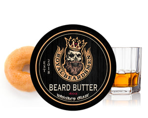 Whiskey Glaze Donut Beard Butter
