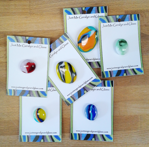 We Carry Local Glass Buttons