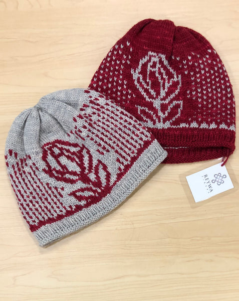 Reywa Rose Hat Knit-Along
