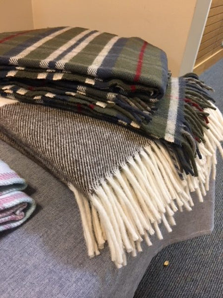 Clearance Sale on Woolen Mill Blankets and Scarves
