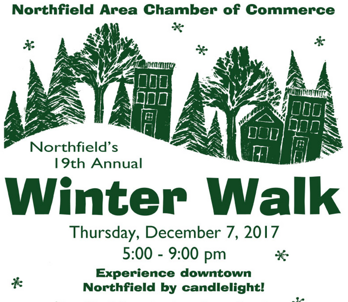 Winter Walk is Thursday Dec. 7th