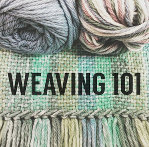 Just Added to April Schedule: Weaving 101