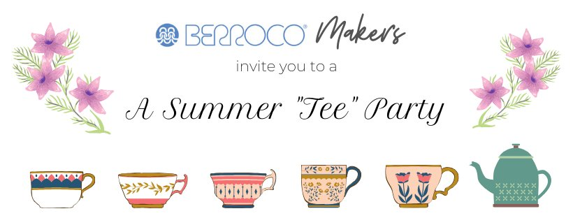 "Join Berroco's Summer ""Tee"" Party CAL/KAL"