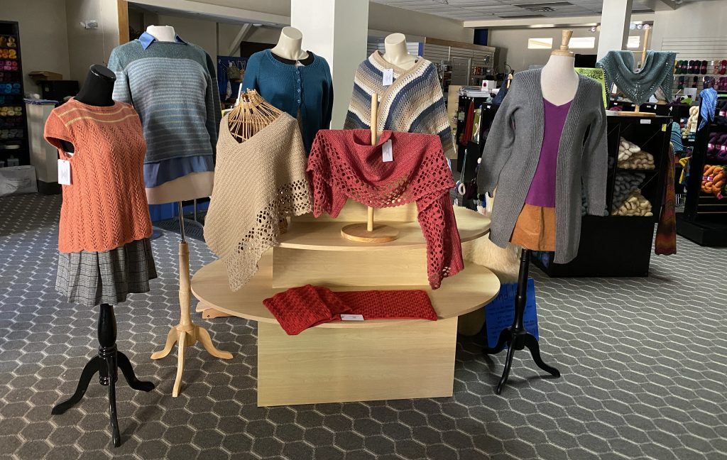 Items in the June 2020 Trunk Show, made with Luma by the Fibre Co.