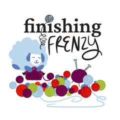 Northfield Yarn Finishing Frenzy Logo