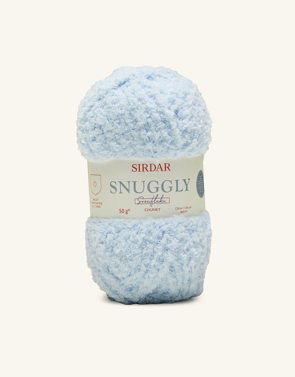 Snuggly Snowflake Chunky - Bath Time (207)