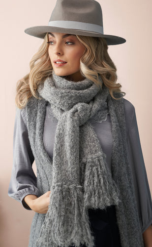 Soft Boucle Scarf Kit