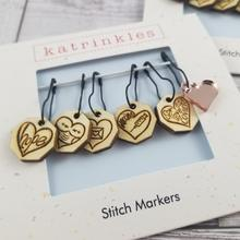 Heart Marker Set - pin style