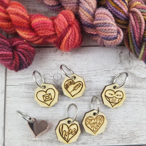 Heart Marker Set - ring style