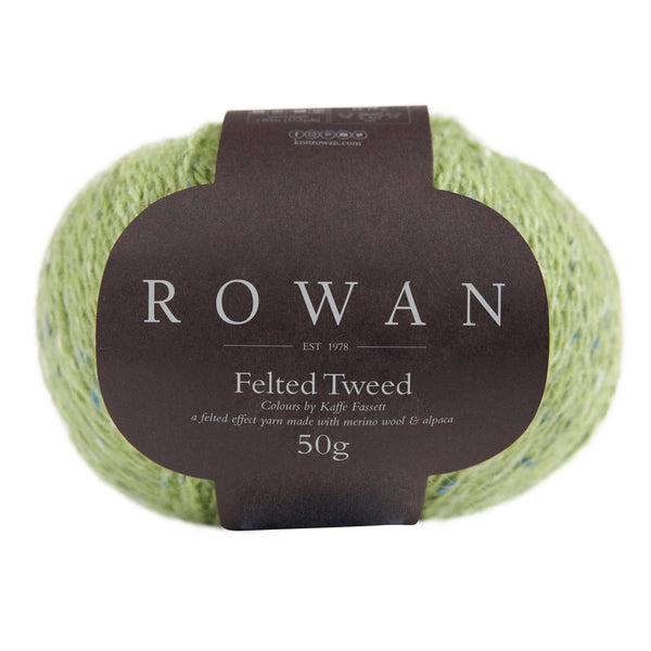 Felted Tweed - Lime (213)