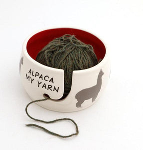 Yarn Bowl - Alpaca my Yarn