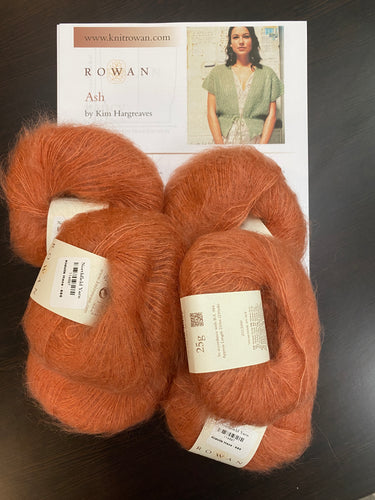 Kidsilk Haze Bundle: Ash, Fancy, or Shanti #680 (Burnt Caramel)