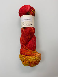 Knitted Wit Pixie Plied - Blanket Flower