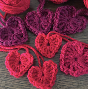 Random Acts Crocheted Hearts (PDF)