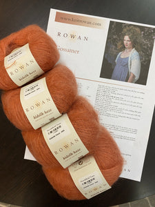 Kidsilk Haze Sweater Bundle:Gossamer #680 (Burnt Caramel)