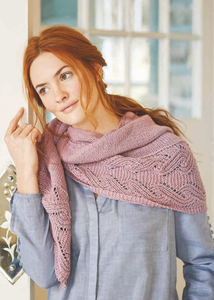 Ida Shawl Kit (Rowan Cotton Cashmere)