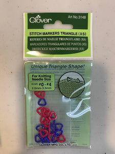 Clover Triangle Markers - X Small