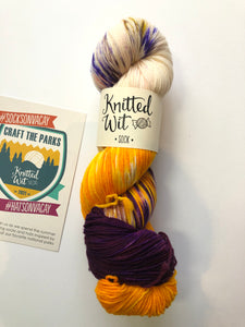 Knitted Wit Sock - Women's Rights National Historic Park