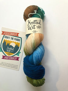 Knitted Wit Sock - Sleeping Bear Dunes